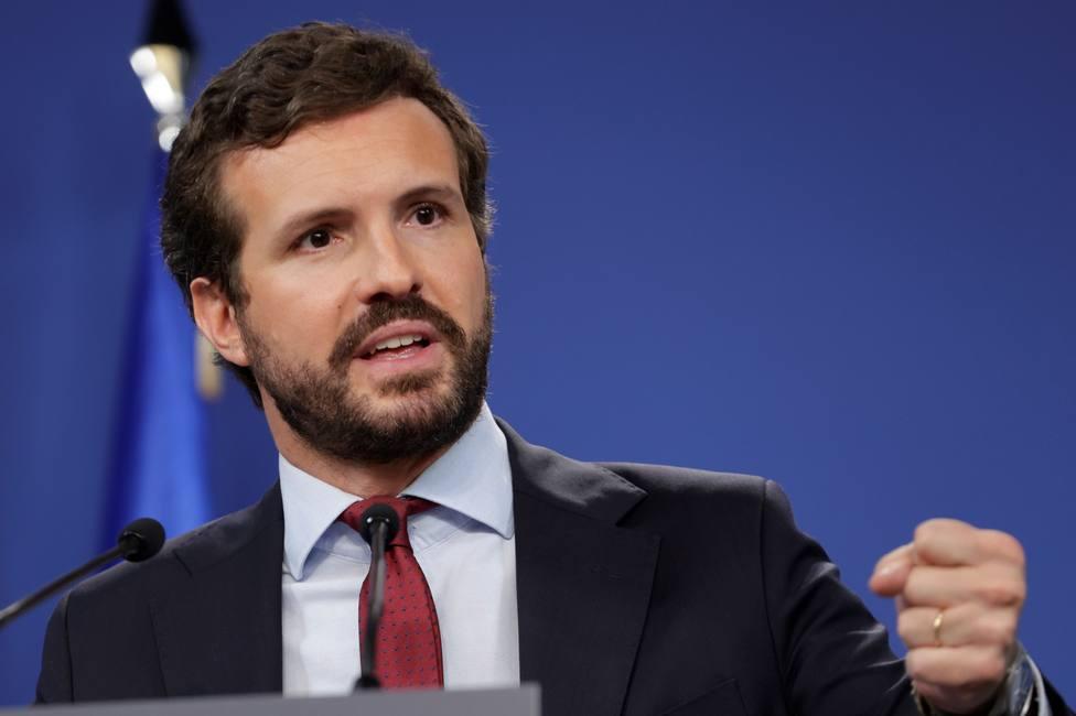 Casado culpa a Sánchez de bloquear la renovación del CGPJ