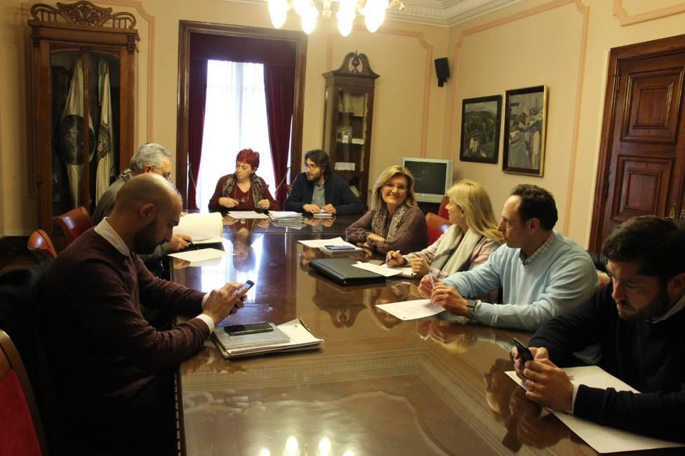 Reunión de la comisión de fiestas de Lugo