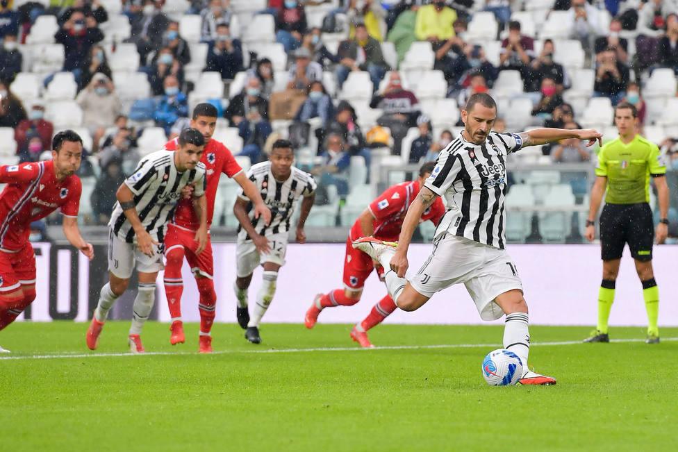La Juventus gana 3-2 al Sampdoria, pero pierde a Dybala y Morata por lesión
