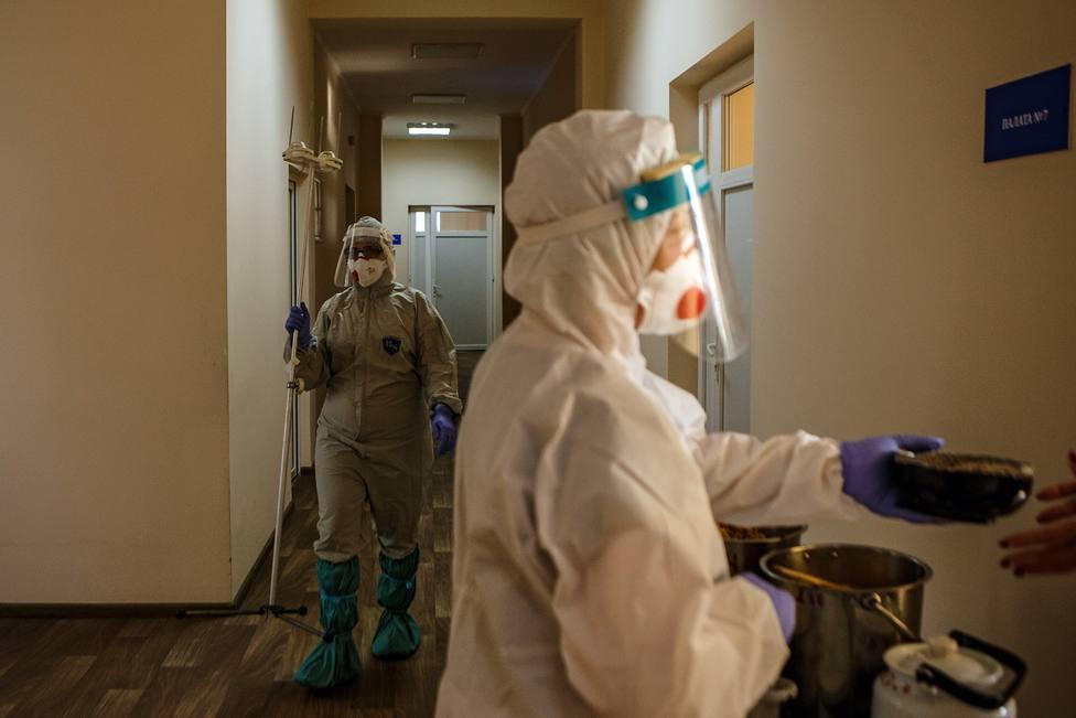 Ucrania notifica casi 19.000 casos de coronavirus en un solo día, la cifra más alta de los últimos seis meses