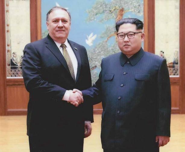 Visita de Mike Pompeo a Corea del Norte