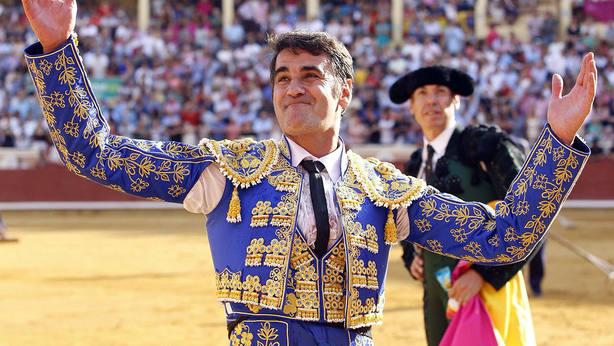 Jesulín de Ubrique durante su reaparición en la Feria de San Julián de Cuenca