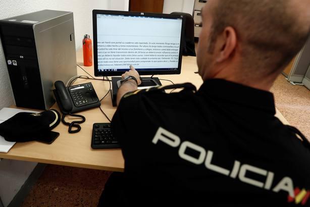 Policía en imagen de archivo