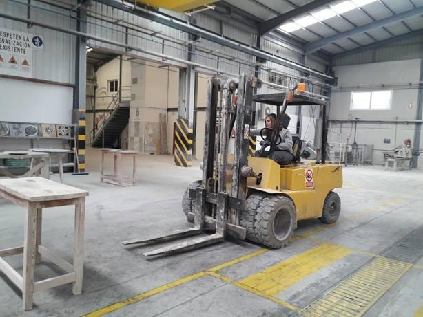 ANDALUC�A.-Almería.- Escuela del Mármol de Fines realiza un estudio para identificar necesidades formativas del sector de la piedra