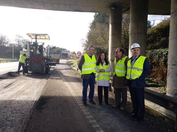 Comienzan las obras para reparar la N-VI a su paso por Lugo