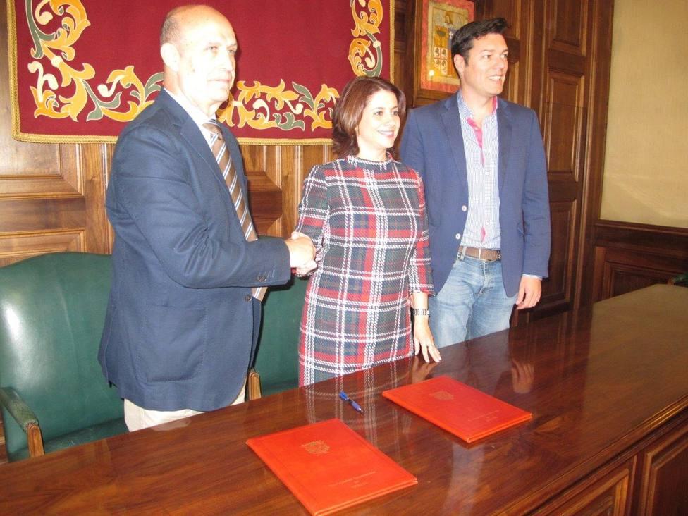 El Ayuntamiento de Teruel y el CV Teruel renuevan su convenio de colaboración