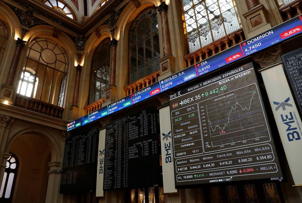 La Bolsa cierra con ganancias por primera vez en mayo tras una sesión de quiero y no puedo