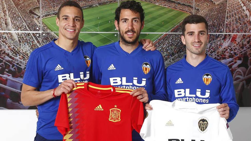 Los tres valencianistas repiten con Luis Enrique