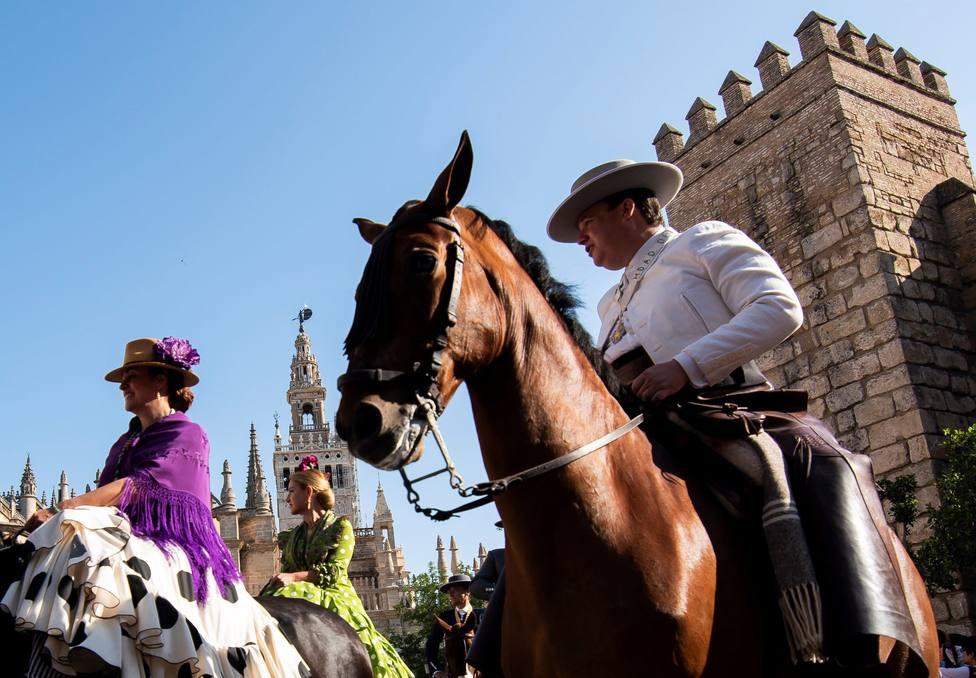 La Guardia Civil cierra la aldea de El Rocío para celebrar la romería