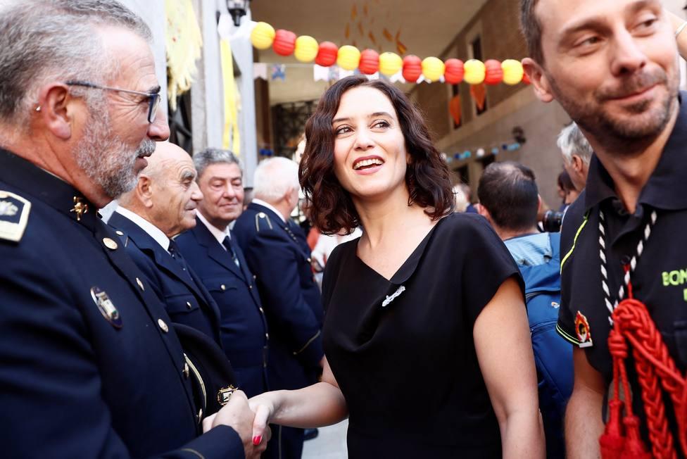 La presidenta electa de la Comunidad de Madrid,Isabel Díaz Ayuso
