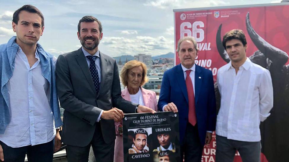 Acto de presentación del 66 festival taurino de Bilbao