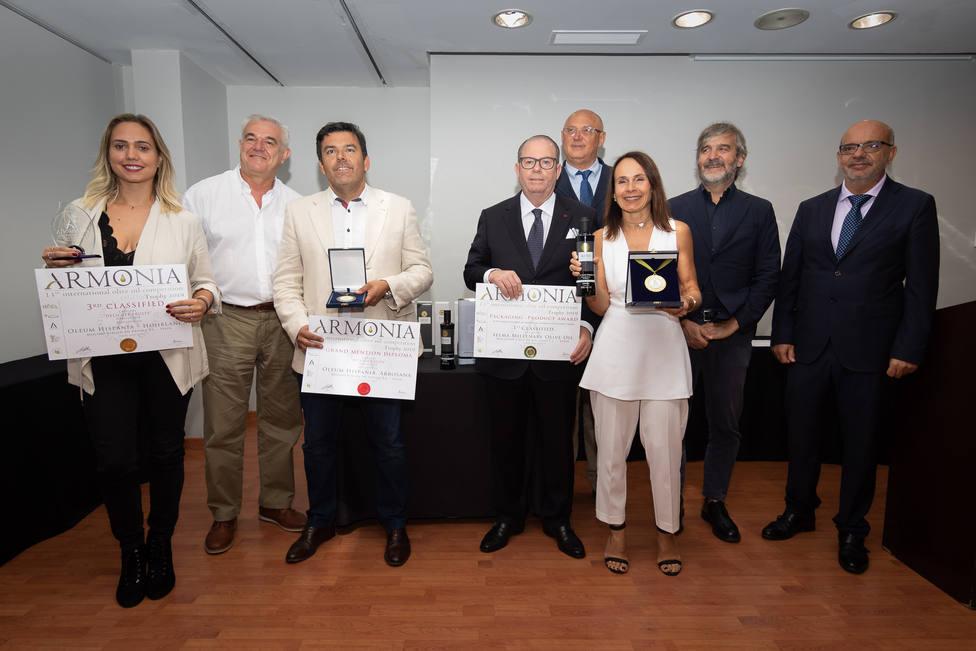 Entrega de premios ARMONÍA en Alicante