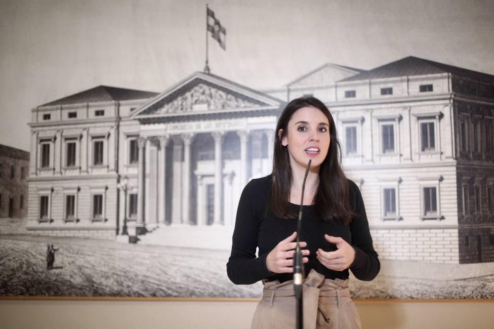Unidas Podemos registra su grupo en el Congreso con Irene Montero de portavoz, a la espera de que se forme Gobierno