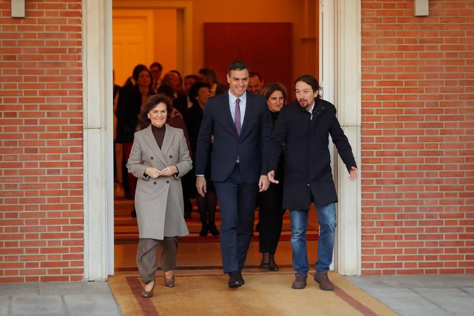 El Gobierno defiende a Pablo Iglesias tras sus críticas hacia el Consejo General del Poder Judicial
