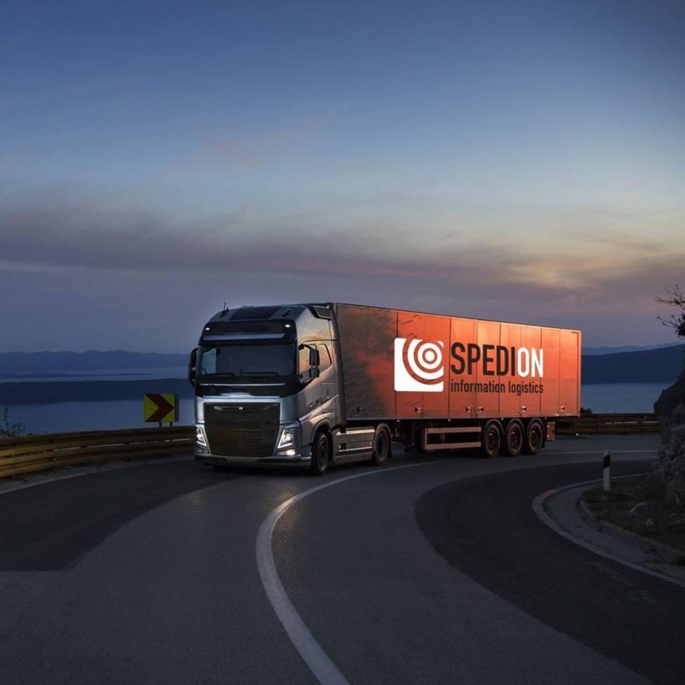 Spedion camión