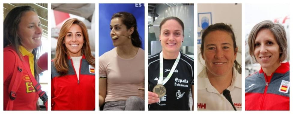 Varios.- El COE reúne a seis deportistas españolas con la vista puesta en el 23 de julio de 2021
