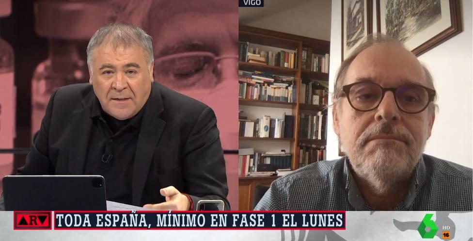 La brutal crítica del investigador del CSIC a Fernando Simón en directo que deja a Ferreras con esta cara