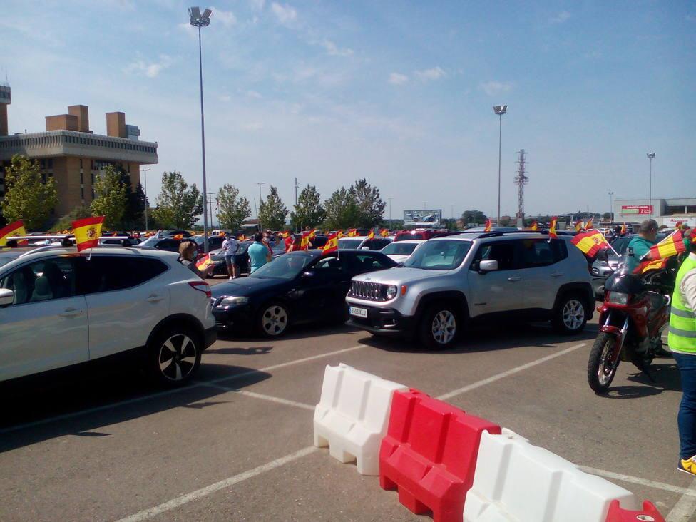 Caravana por la libertad de VOX Huesca