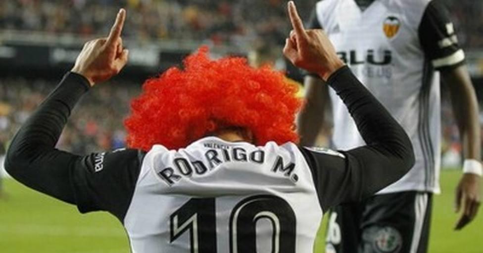 Rodrigo y su inolvidable peluca