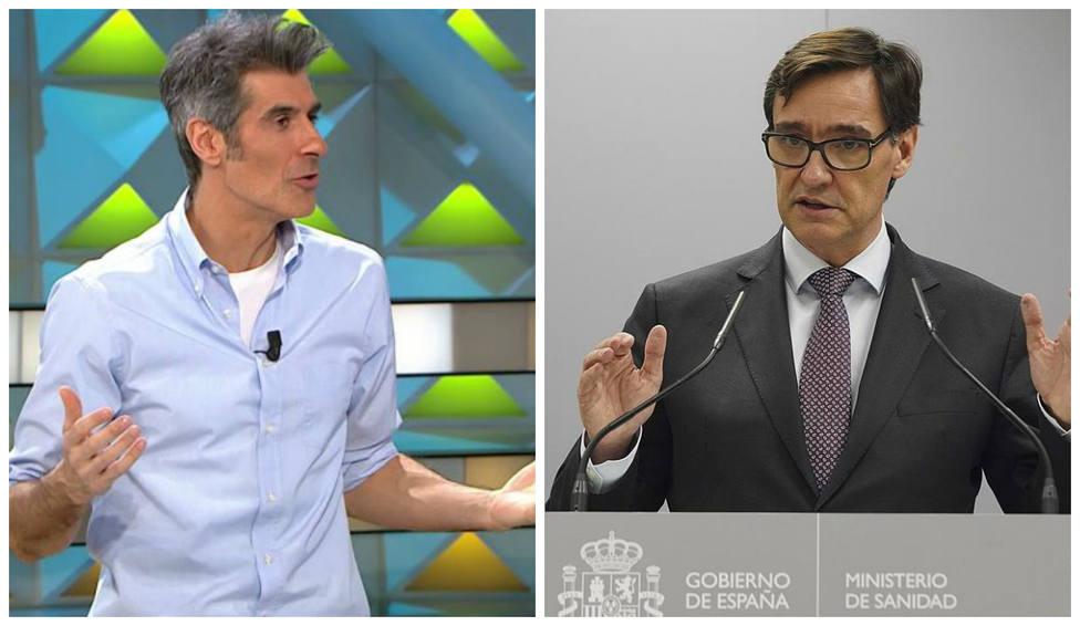"""El 'recado' de Jorge Fernández al ministro de Sanidad: """"Nos falta el arma más importante para luchar..."""