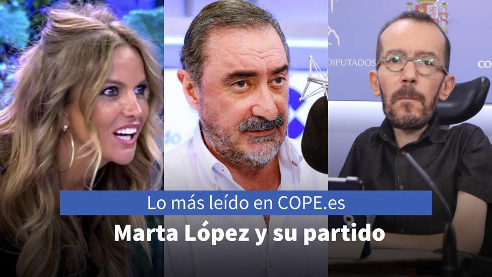 El escarnio a Marta López tras revelar a qué partido vota, entre lo más leído de este lunes