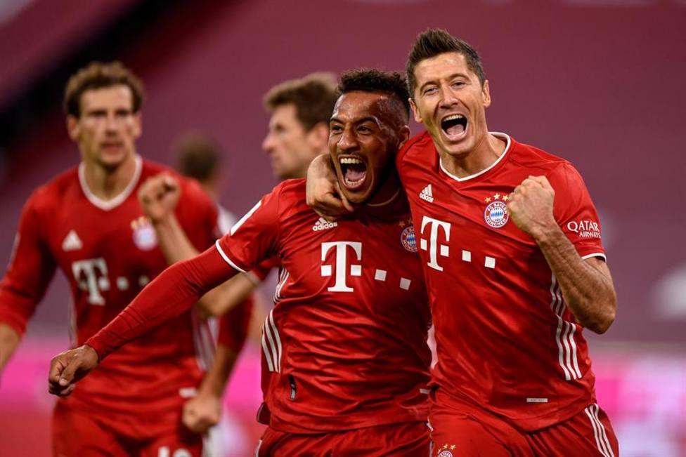 Lewandowski salva al Bayern