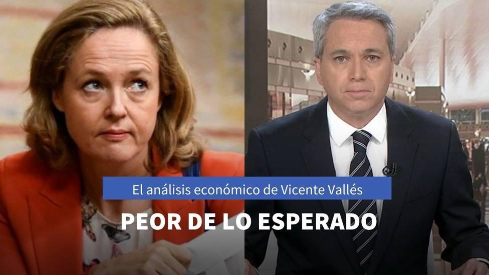 Los caóticos números de Sánchez que han provocado el análisis de Vicente Vallés