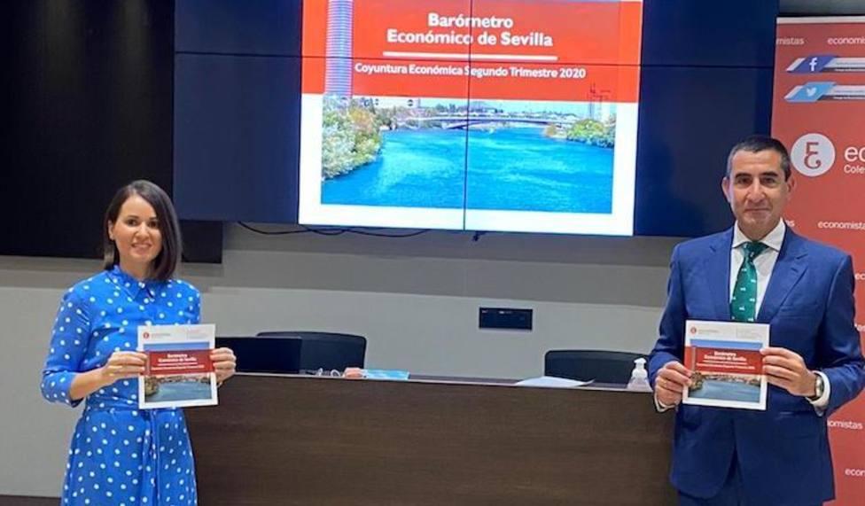 Presentación del Barómetro económico de Sevilla
