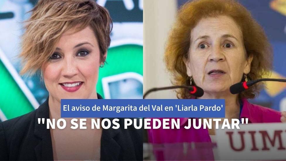 Cristina Pardo y Margarita del Val