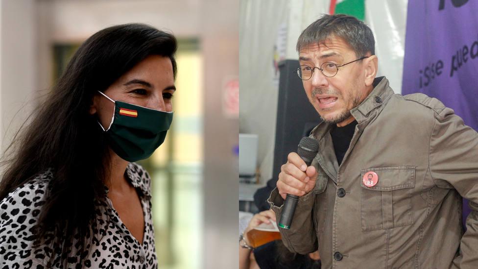 La acusación de Monedero a Vox que desmonta Rocío Monasterio: El 24 de enero