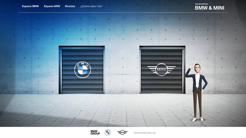 BMW y MINI recrean en internet el primer salón del automóvil nacional