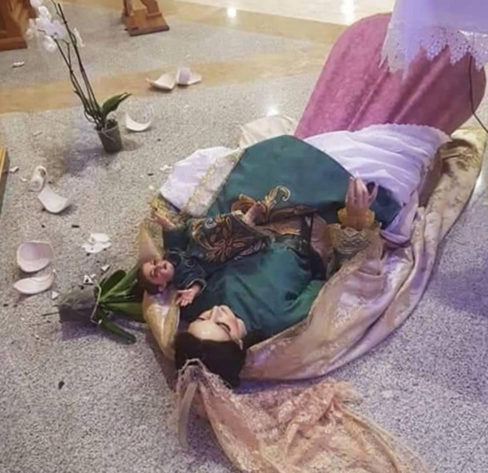 Roban y causan destrozos en la parroquia de San Agustín de El Ejido