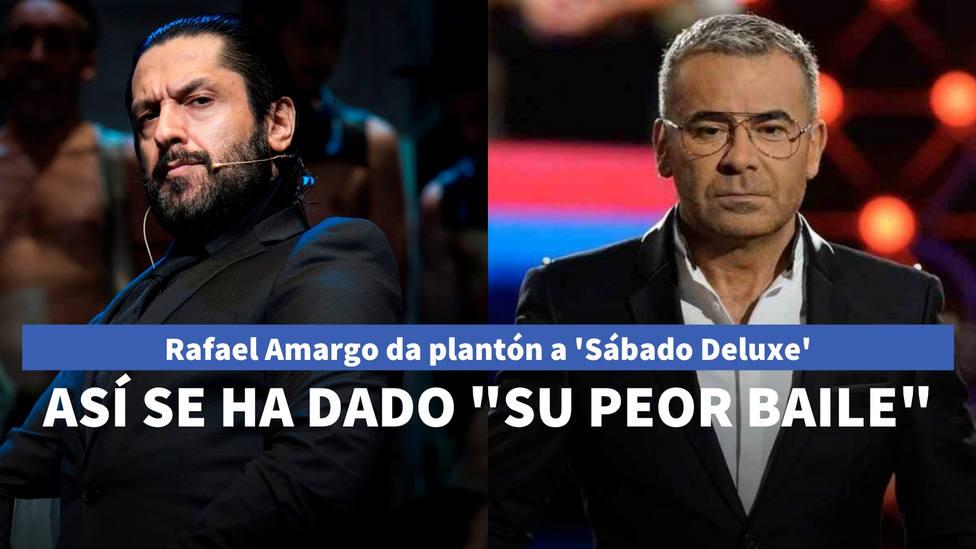 Rafael Amargo da plantón a Sábado Deluxe: así ha sido el tira y afloja que termina con su peor baile