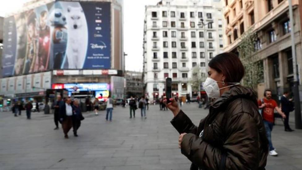 Los nuevos contagios por coronavirus bajan más de un 70% este domingo en la Comunidad Madrid
