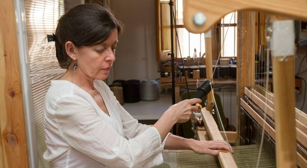 Ana Santiago, ganadora de los Premios Nacionales de Artesanía 2020