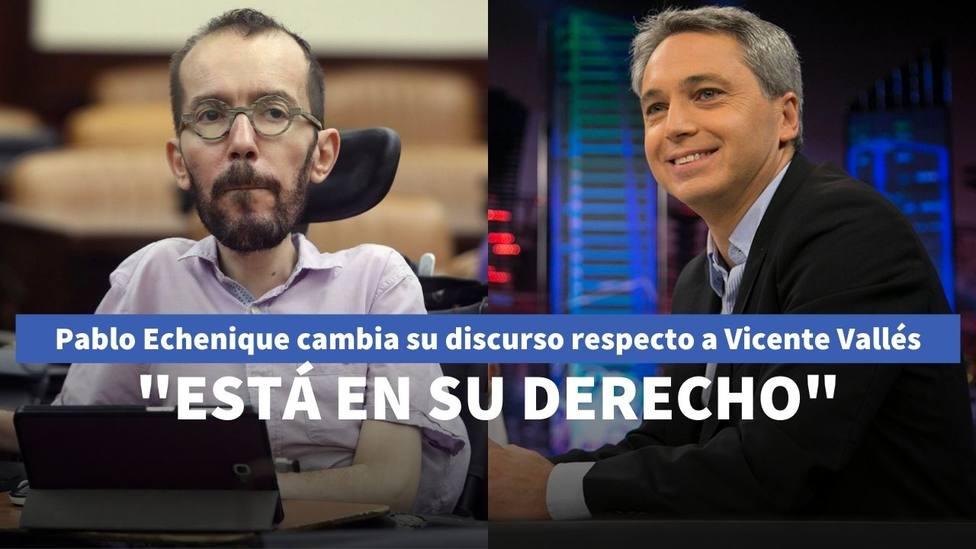Echenique y Vicente Vallés