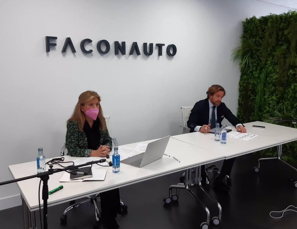 Foto datos venta de coches FACONAUTO (Europa Press)