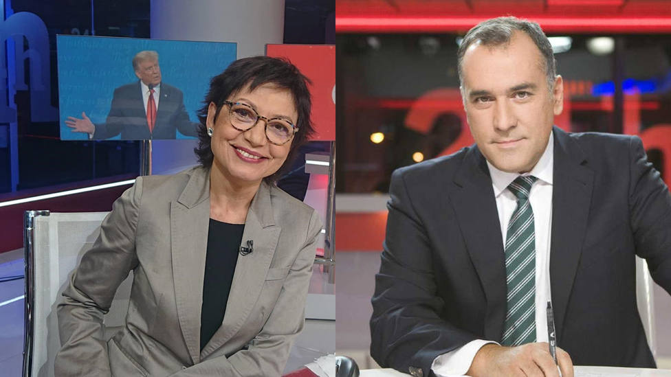 Una corresponsal de RTVE señala a su propio medio por este detalle del especial electoral: Amarillismo