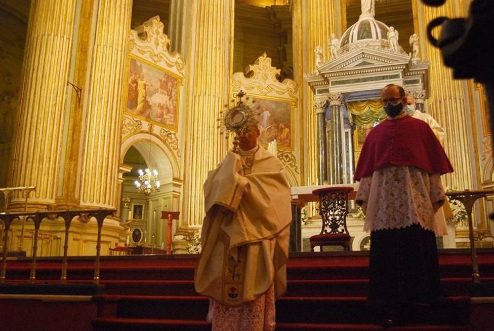 El interior de la Catedral acogerá la procesión del Corpus Christi este domingo
