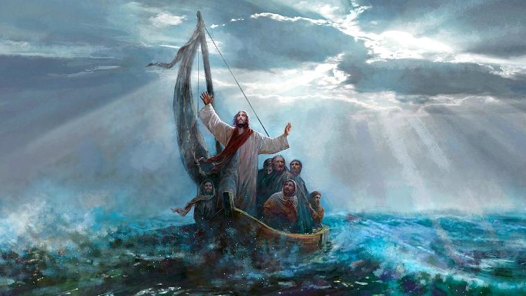 """La enseñanza que nos deja el Señor en el Evangelio de este domingo: """"Estad tranquilos, yo estoy con vosotros"""""""