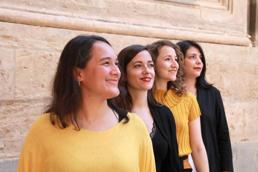 El grupo vocal femenino Egeria