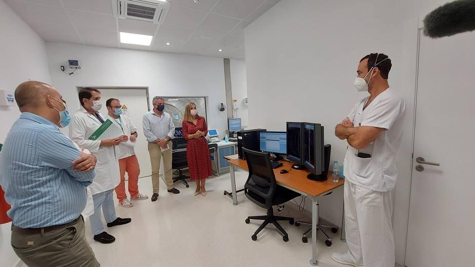 El nuevo equipo de resonancia del Hospital La Inmaculada evitará unas 8.500 pruebas externas anuales