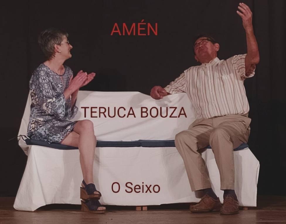 Un momento de la representación de la obra Amén - FOTO: Cedida