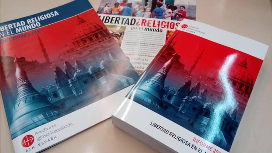 AIN presenta el Informe de Libertad Religiosa en el Mundo