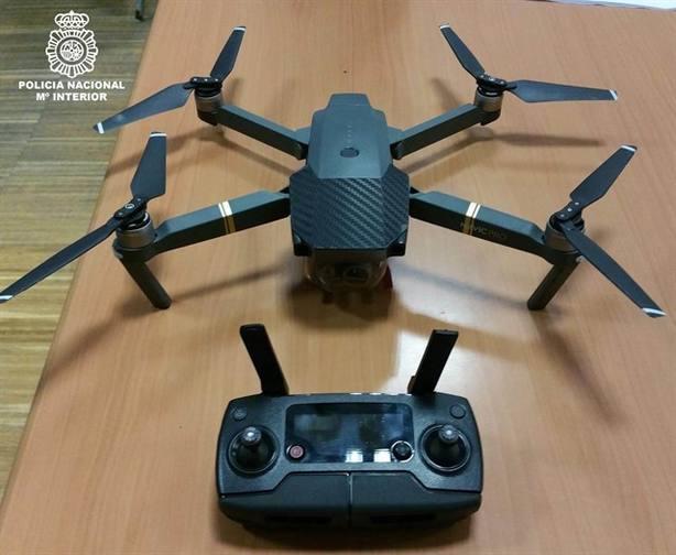 Detenido por volar un dron sobre los asistentes al encendido de Navidad de Vigo