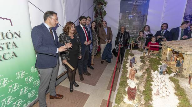 Inaugurado el belén de San Esteban