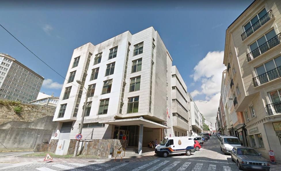 Edificio de los juzgados de Ferrol