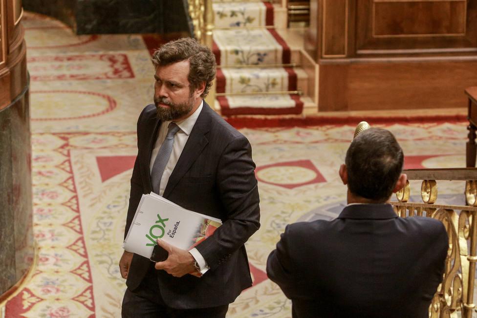 Vox ve factible una abstención del PP en la investidura de Sánchez y apoya la gran coalición que plantea Feijóo