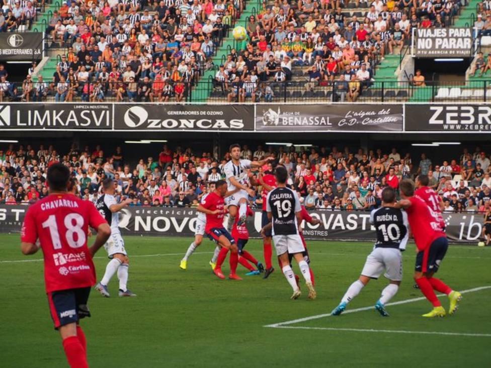 Partido del Castellón en Castalia ante más de 10.000 espectadores