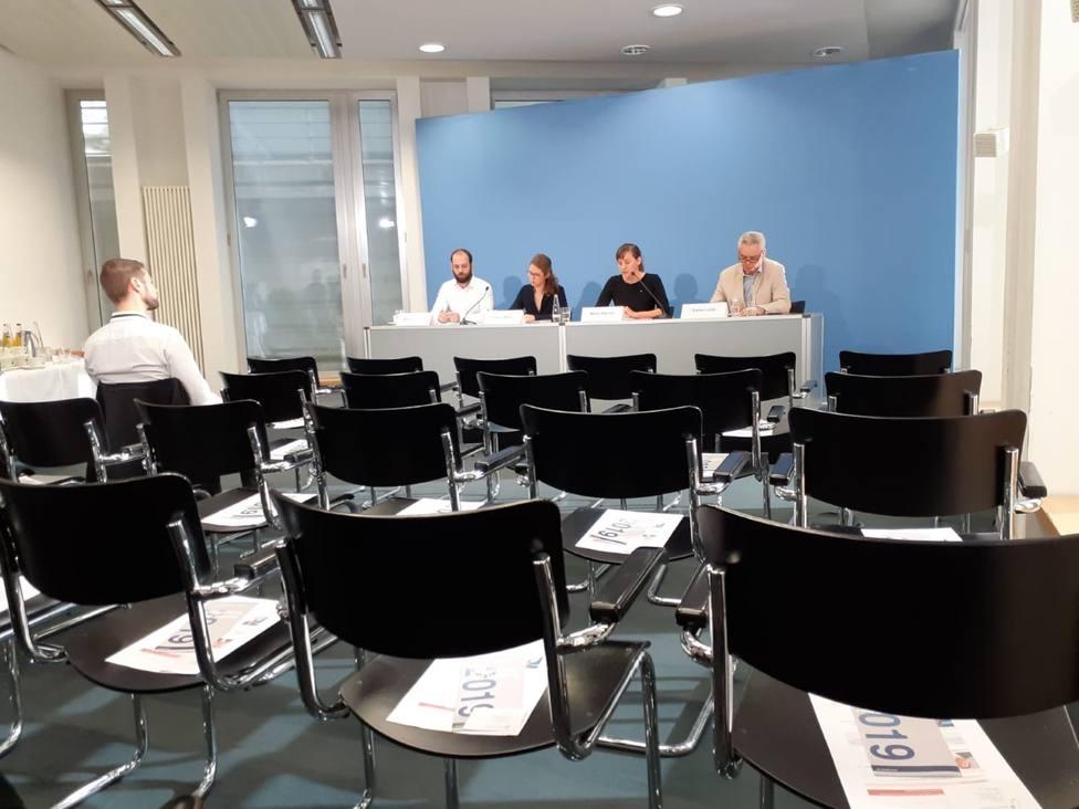 Fracaso de la rueda de prensa independentista en la embajada catalana en Berlín: solo acude un periodista